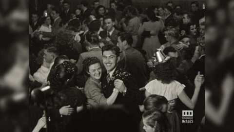 AUMALE - BAL DES CATHERINETTES - 1950