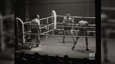 COMBAT DE BOXE - 1952/53