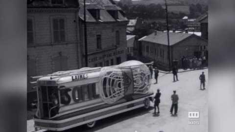 AUMALE - TOUR DE FRANCE - 1951