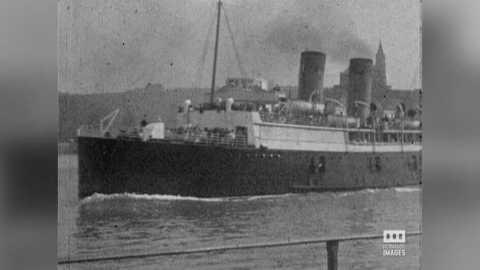DIEPPE - DEPART ANGLETERRE - 1927/1932