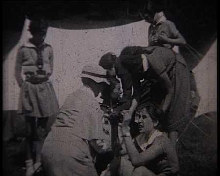 CAMP D'ECLAIREUSES (I) - VALLOIRE (598)