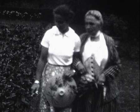 JACQUES MALLARME BECHE - HENRIETTE ET GRAND MAMAN - FRESNAY (734)