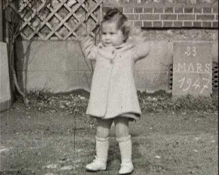 FILM DE FAMILLE CHANTRAINE 1945-1947