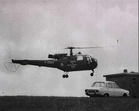 SAUVETAGE PAR HELICOPTERE