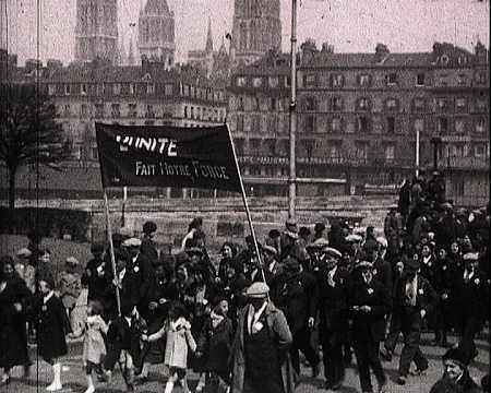 DEFILE DU FRONT POPULAIRE 1937 ROUEN