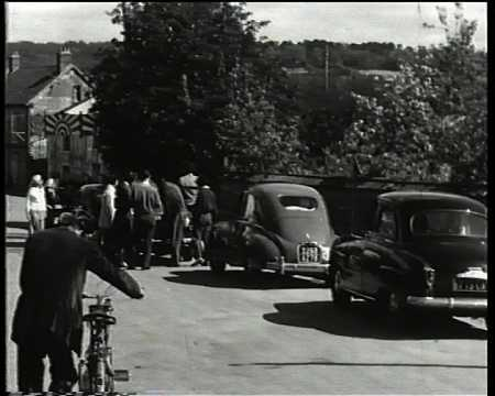 RALLYE AUTOMOBILE 3 MAI 1954