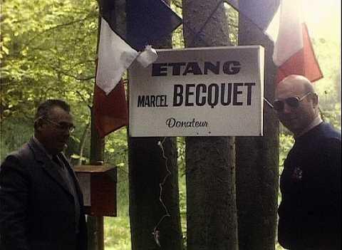 INAUGURATION DE L'ETANG MARCEL BECQUET, SAINT-PIERRE-DU-BOSGUERARD