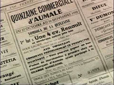 ACTUALITES 1952-53
