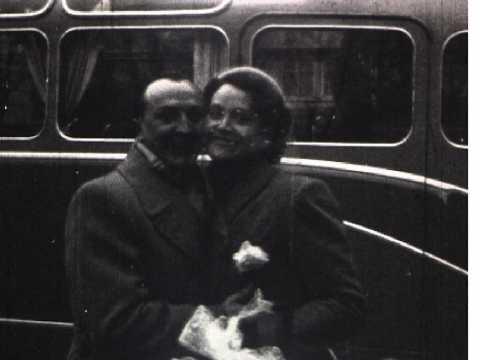 MARIAGE EN JANVIER 1953