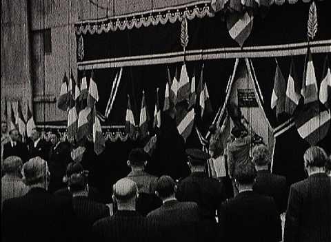 INAUGURATION DE LA PLAQUE DU 21 MAI 1947 DES VICTIMES DE LA SNCAN