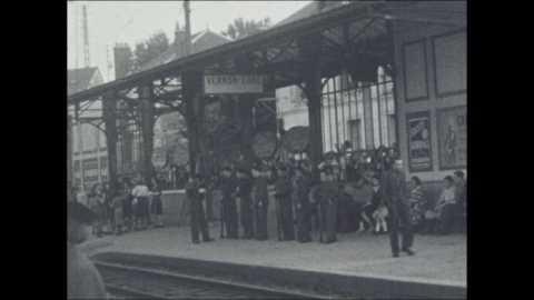 EVENEMENTS À VERNON de 1945 à 1949