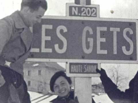 SKI 1937 - LES GETS