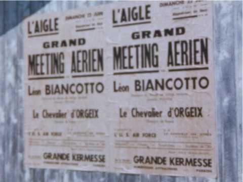 VOL EN AVION A GRANVILLE - MEETING AERIEN A L'AIGLE