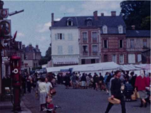 FILM DE FAMILLE - MOTTEVILLE- BEAUMONT LE ROGER